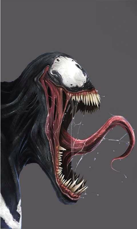 Venom - Marvel Comics - Symbiote - SpiderMan - Symbiotic