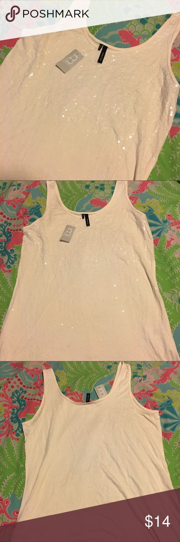 NWT Maurice's Sequin Tank Top New! Never worn. Beautiful Sequin tank, perfect for layering. Absolutely no trades! Maurices Tops Tank Tops