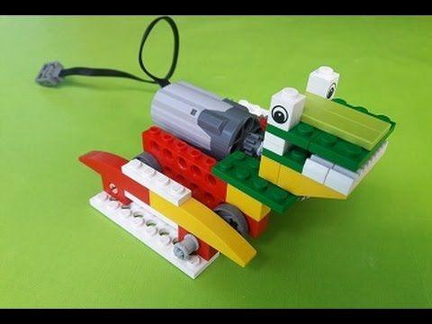 Robotica educativa lego wedo sapo . construccion de un sapo con lego, programacion de un sapo con wedo.