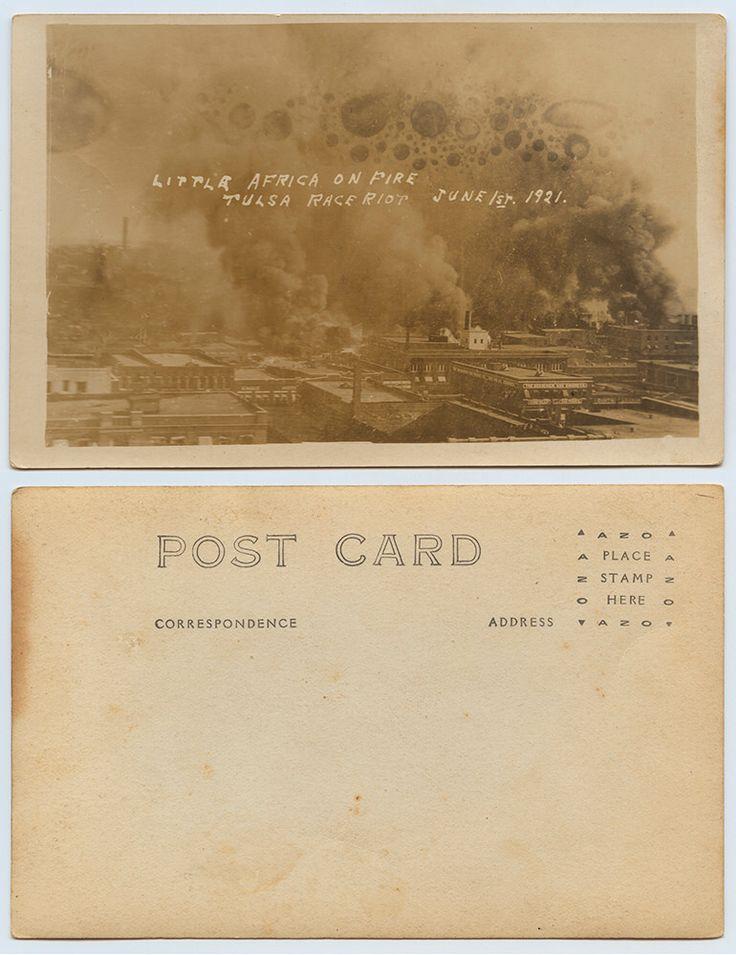 Little Africa on Fire Tulsa Race Riot, June 1st, 1921