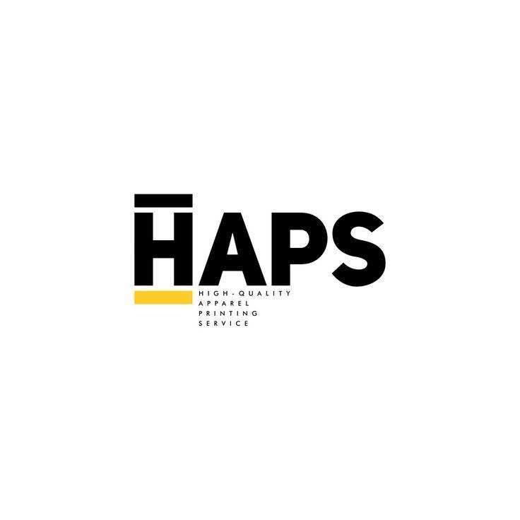 Logo design for HAPS , High-Quality Apparel Printing Service