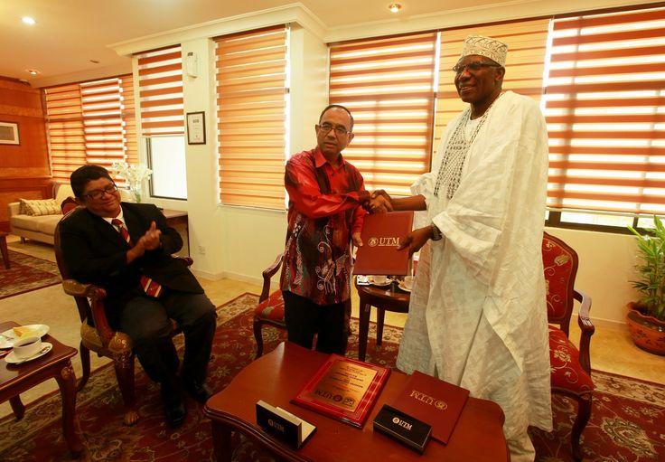 Kunjungan Hormat oleh Universiti Nasarawa Nigeria | Photos