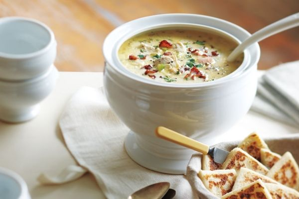 Michael+Smith's+Favourite+Maritime+Seafood+Chowder