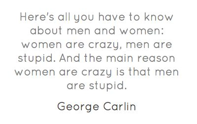 Here's all you have to know about men and women...