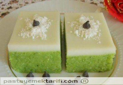 Ispanaklı Sütlü Irmik Tatlısı resimli yemek tarifi, Helvalar - Diğer Tatlılar tarifleri