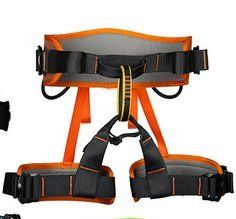 XINDA Professional Outdoor Rock Safety Belt Half Body Waist Support Harness Aerial Outdoor Camping Equipment Survivalorange ** Learn more by visiting the image link.