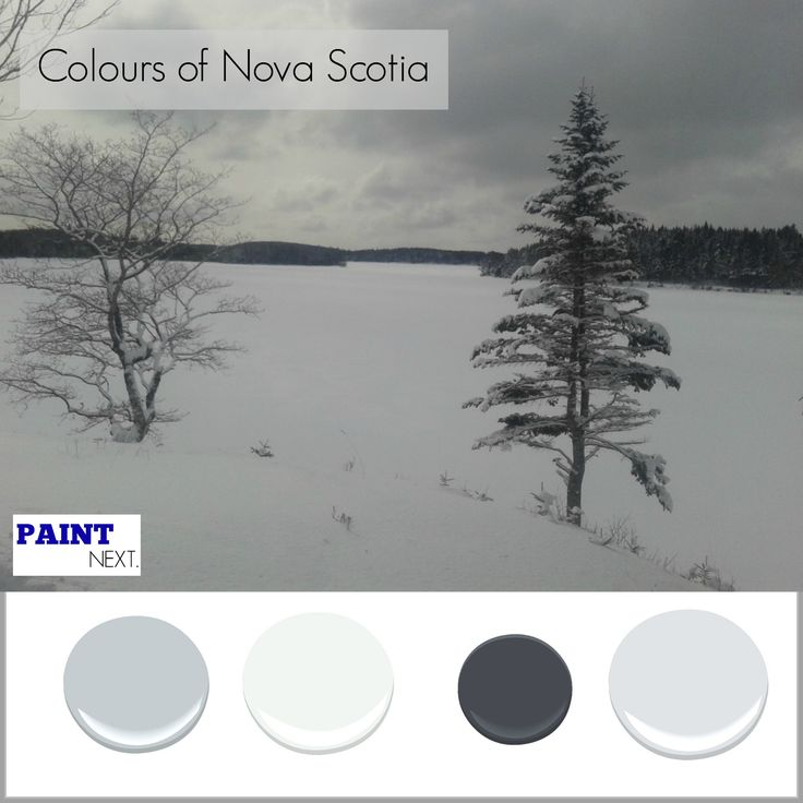 Frozen Winter Lake Benjamin Moore Colours White Water Distant Grey White Water Heaven