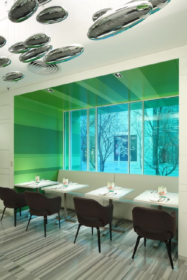 Ceiling Lighting Ideas at Fresh and Cool P.S. Restaurant and Luxury Lounge