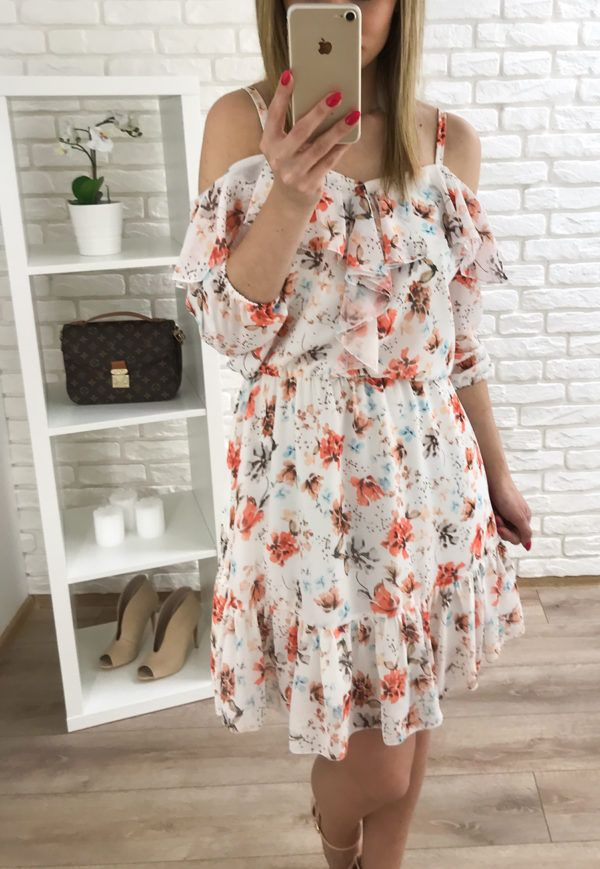 Pin By Stylekingbutik On Butik Online Dla Kobiet Shoulder Dress Dresses Fashion