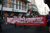 News about PFLP: Comrade Leila Khaled addresses Philippines mass mo...