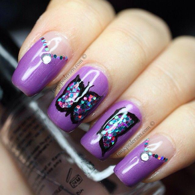 Instagram photo by tonjeped  #nail #nails #nailart