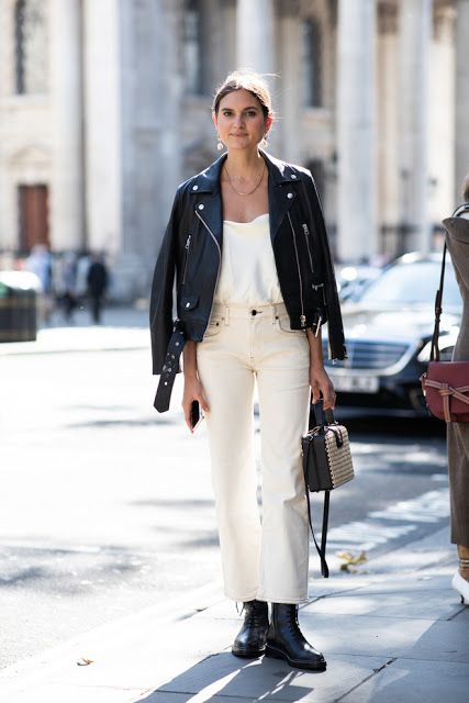 The Best Street Style From London Fashion Week 2019 streetstyle  leatherjackets outfits