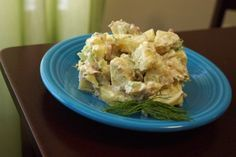 Whip up a batch of this creamy dill potato salad, and steal the show at any Fourth of July celebration.