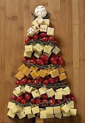 Decoração da ceia de Natal feita com a própria comida!   UP Design Inteligente