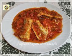 Anguilla in umido ricetta di pesce