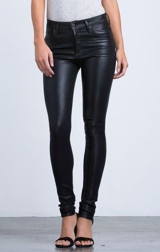 Rocket High Rise Leatherette in Black - Denim - CITIZENS of HUMANITY