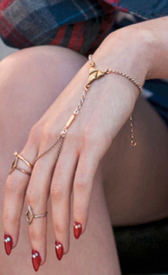 jewelry finger bracelet