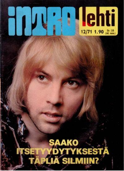 Intro-lehti. 12/71