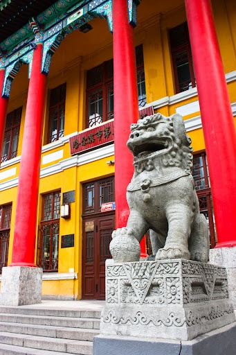 Chinese culture and color were everywhere throughout the city of Harbin.    #culture #China #ICPC2010