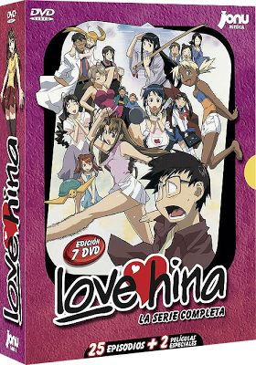 Love Hina: La Serie Completa (2000) DVDR PAL - IntercambiosVirtuales