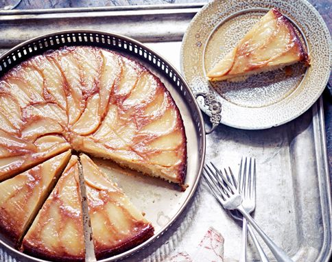 Winter ginger, pear and almond cake - from the Jamie Oliver magazine, Christmas edition 2012
