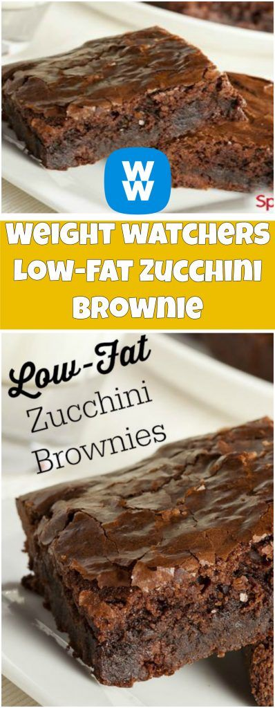 Low-Fat Zucchini Brownie | weight watchers recipes | Page 2