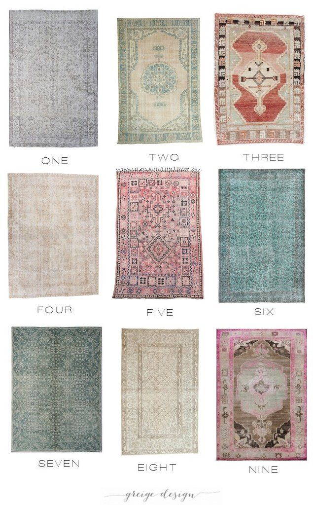 Our Favorite Vintage Rugs on Etsy – Greige Design