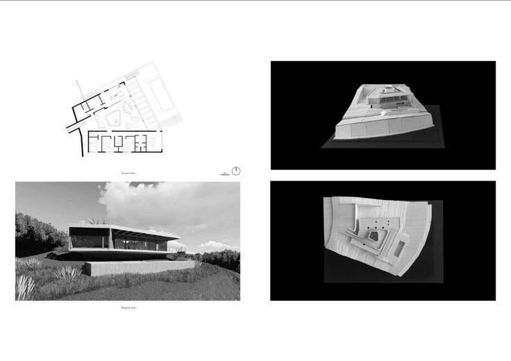 modelo La Reserva House | encargo studio Mathias Klotz arquitecto. Extracto desde portfolio Andrea Tonazzini | https://issuu.com/andreatonazzini/docs/portfolio_andrea_tonazzini_issuu
