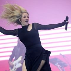 Ellie Goulding performs live at the Weston Park V Festival UK
