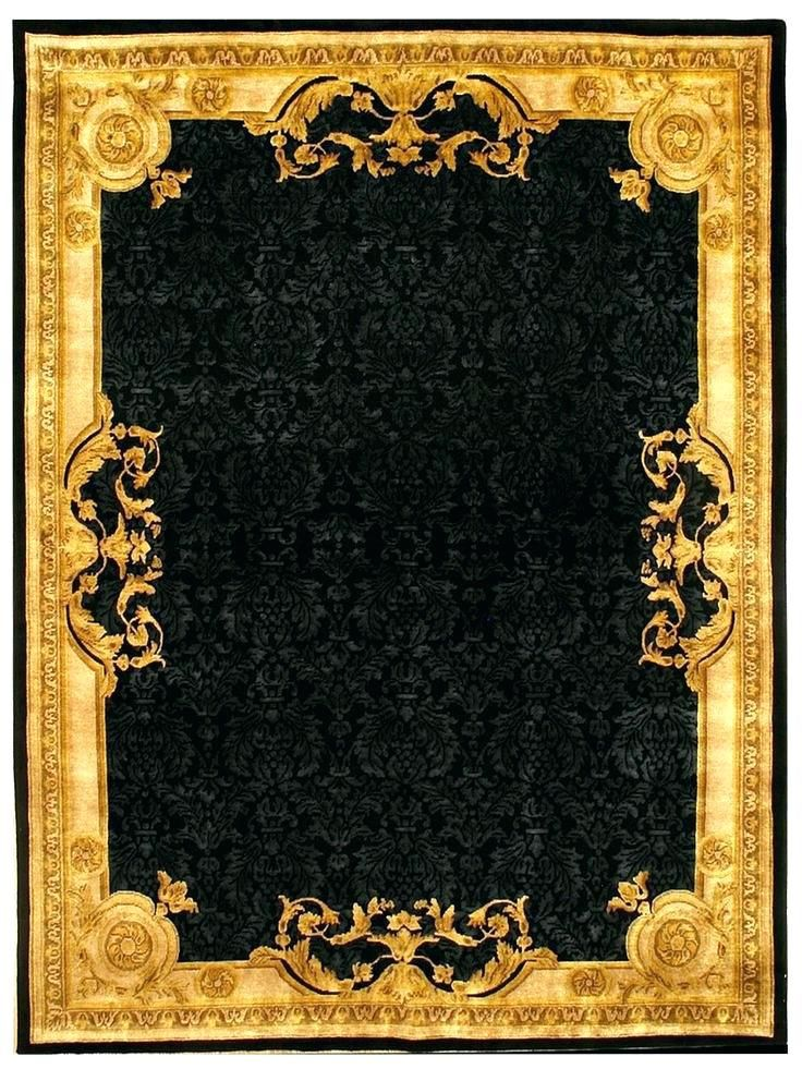 Black And Gold Rugs Black And Gold Area Rug G Black Gold Area Rugs
