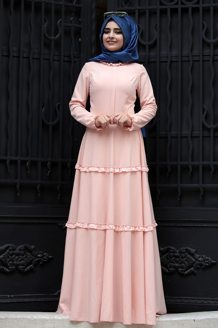 Sümay - Defne Elbise - Somon