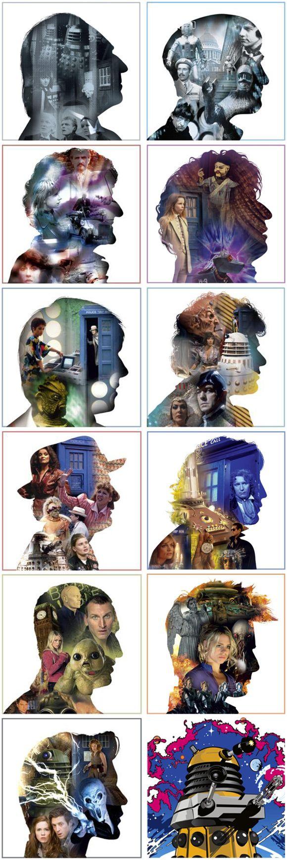 Des cartes de voeux Doctor Who ! #doctorwho
