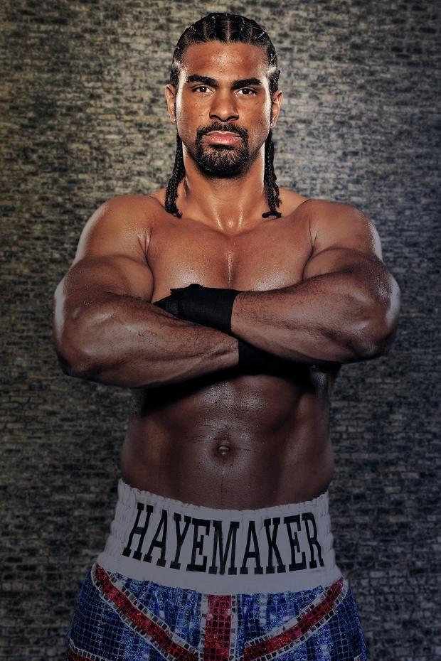 David Haye - British Heavyweight boxer - Vegan