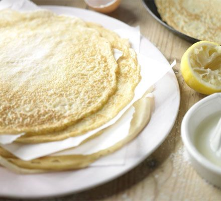The classic pancake: This basic batter recipe for crêpes and pancakes is a versatile foundation for either sweet or savoury fillings