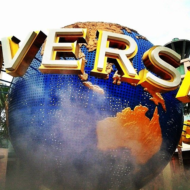 The iconic Universal Studios Singapore globe. @getourguide cat (Getourguide.com) on Instagram. Make your own itinerary at getourguide.com.
