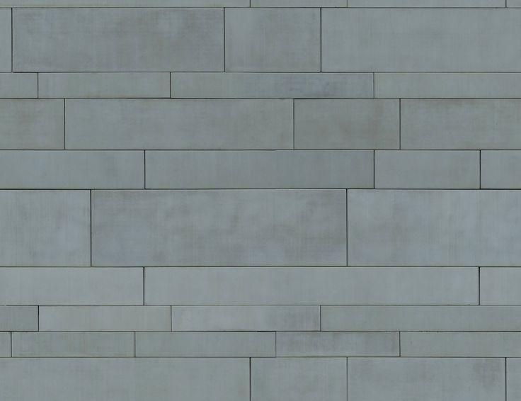 Zinc Panel Texture : Metal panels zinc aluminium seamless texture texturas