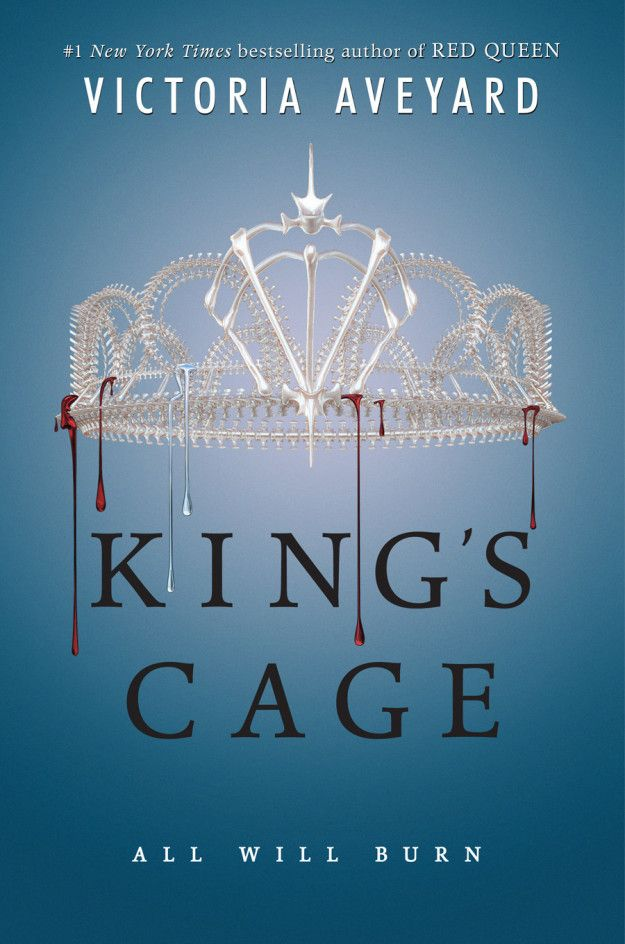 COVER REVEAL: King's Cage (Red Queen #3) by Victoria Aveyard
