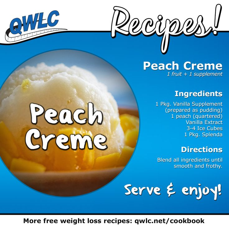 A cool, delicious, refreshing dessert recipe from Quick Weight Loss Centers!  Find more weight loss recipes at http://quickweightloss.net/recipes