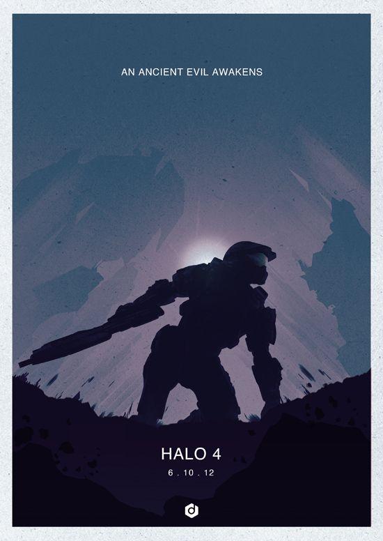 Halo 4 minimalist by Doaly