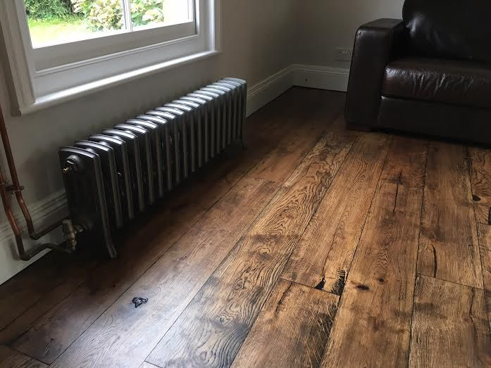 Beautiful Rustic Floor finished in Osmo Polyx Oil Tint, Terra and Clear. http://www.wood-finishes-direct.com/product/osmo-colour-foundation?sid=1&q=poly