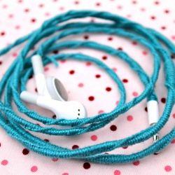 Friendship Ear BudsIdeas, Ears Phones, Crowns Hills, Ears Bud, Diy Crafts, Friendship Ears, Wraps Headphones, Earbuds, Friendship Bracelets