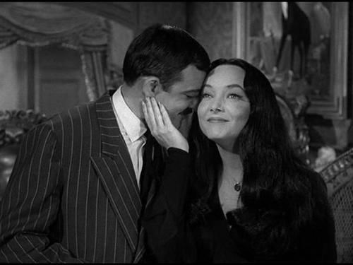 relationship like gomez and morticia cara