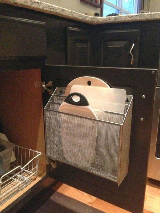 Clever Storage Idea Cutting Boards