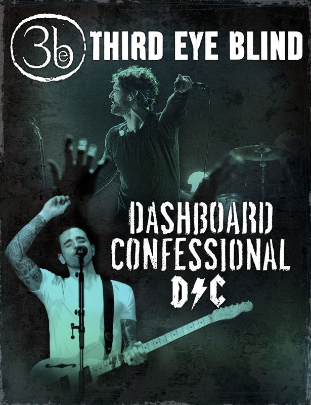 Dashboard Confessional announces co-headline tour with Third Eye Blind