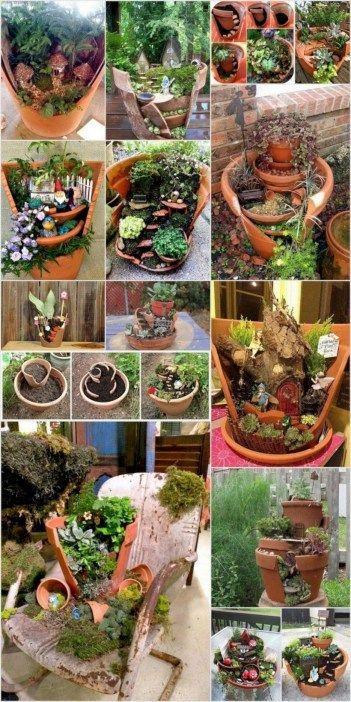 Super Easy Diy Fairy Garden Ideas 15 Fairy Lights Diy Pinterest