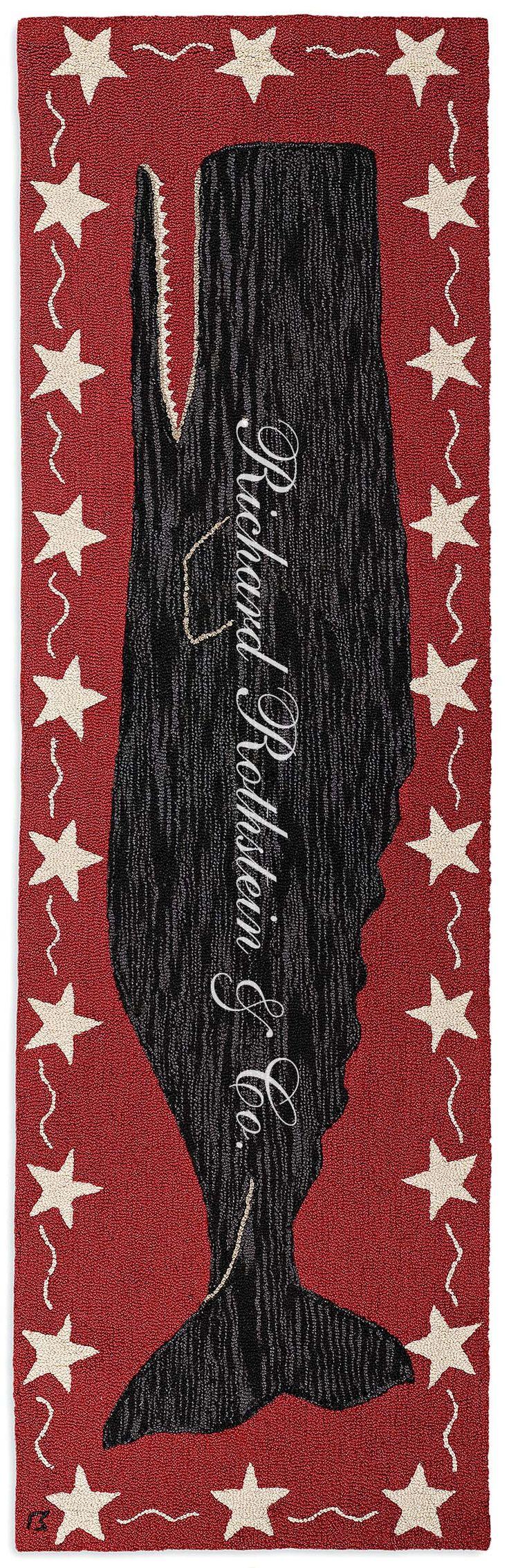 Nautical rugs for bathroom -  Bathroom Black Whale Nautical Rug Download