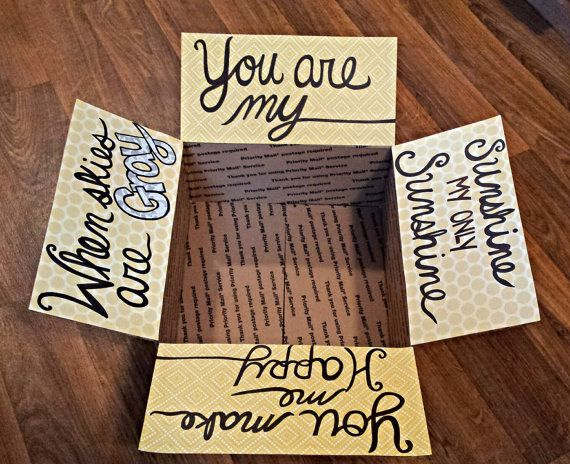 Care package decorating kit- You are my sunshine- Hey, I found this really awesome Etsy listing at https://www.etsy.com/listing/227702318/carepackage-decorating-kit-you-are-my