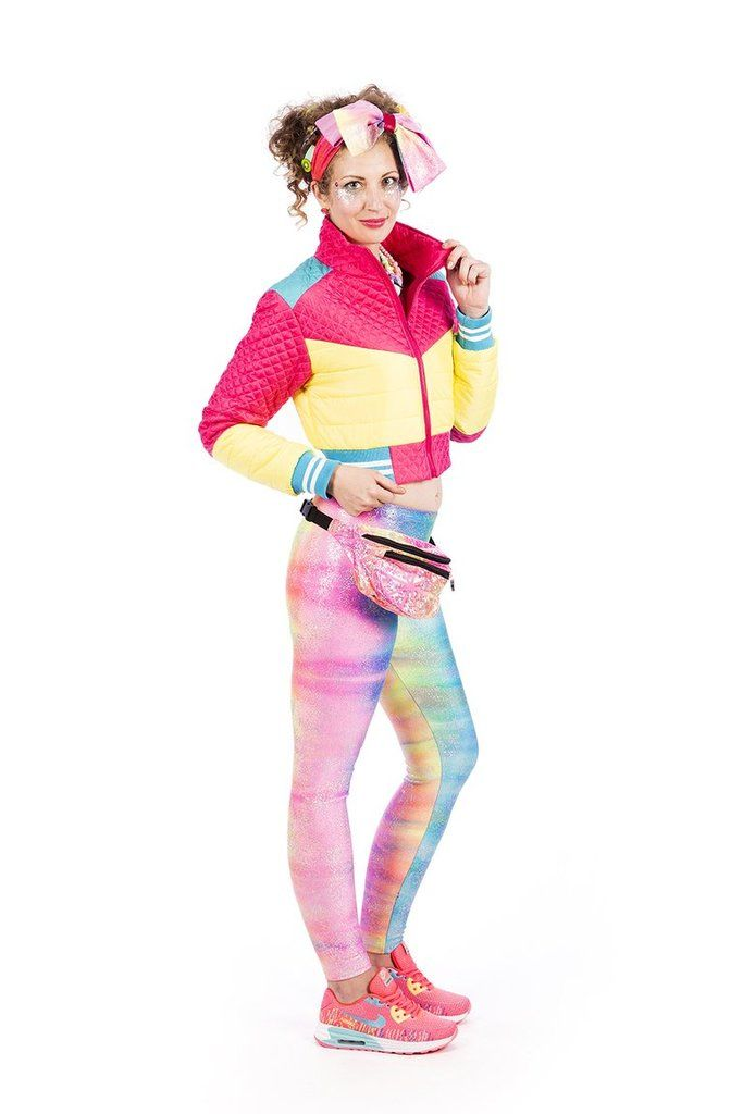 State of Disarray! Yellow & Pink Cropped- Puffer Jacket  #stateofdisarray #recklessfashionrevolution #festivalfashion #festivaloutfit #streetstyle #fashiondesigner #summerstyle #ootd #croppedjacket #pufferjacket #glitter #summerski #fashionweek #ravewear #clubkid #edm #secretgardenparty #burningman #boomtown #coachella #glastonbury #ibiza #shambala #rainbow #bubblegum #candyfloss #80's #fancydress #dressup #costume #statementfashion #harajukufashion #kawaiifashion #kawaii #harajuku