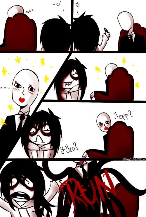 Jeff and slender man!