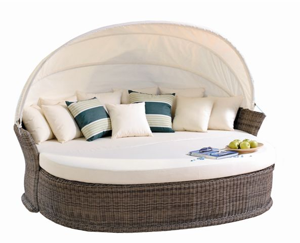 Daybed - I'd trade my couch for this one. Saw it advertised last weekend at Chair King on sale for $2,000; normally $3,000.